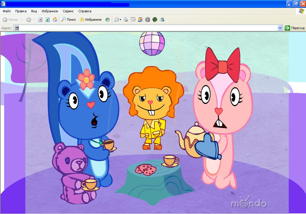happy tree friends мультики: